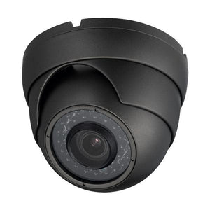 2MP HD 4-Way 1080P Armored Turret Dome Camera, Motorized Zoom, Gray