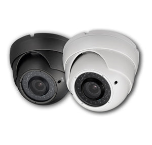 2MP HD TVI 1080P Armored Dome Camera Vari-focal, motorized zoom, Grey