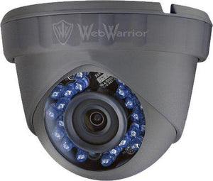1.3MP HD TVI 720P Armored Mini Dome Camera, 2.8mm lens, Gray