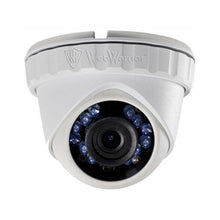 Load image into Gallery viewer, 2.1 MP HD TVI 1080p Advanced Mini Turret Dome Camera, 2.8mm lens Extra Wide, White