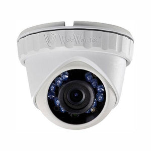 2.1 MP HD TVI 1080p Advanced Mini Turret Dome Camera, 2.8mm lens Extra Wide, White