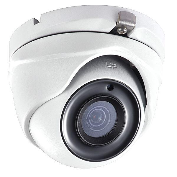 2MP HD TVI 1080p Advanced WDR Mini Turret Dome Camera, 2.8mm lens, White