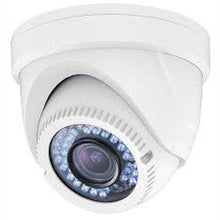 Load image into Gallery viewer, 2MP HD TVI 1080P Advanced Armored Dome Camera, Vari-focal 2.8-12mm lens, White