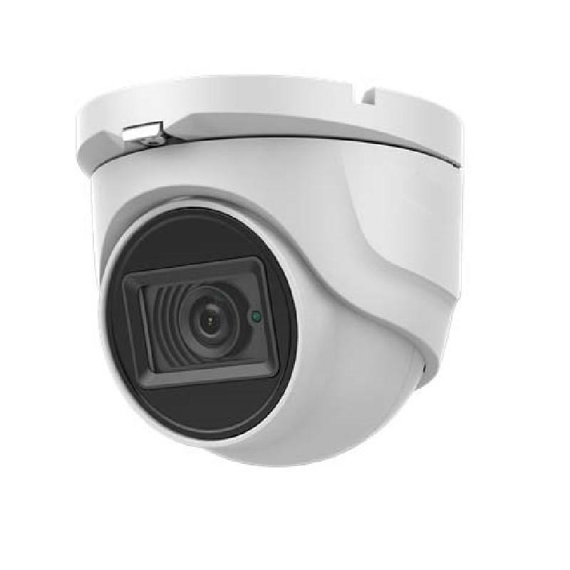 8.29MP UHD TVI 4K Advanced Armored Dome Camera, 2.8mm lens, White
