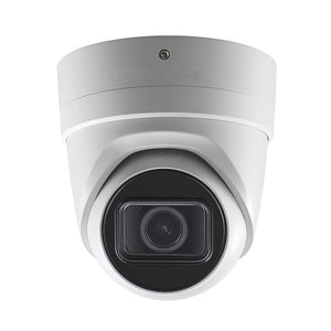 8MP H.265+ TWDR Motorized EXIR Dome Network Camera 2.8-12mm