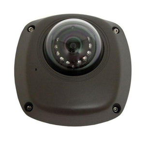 4MP HD Network Outdoor Mini Dome Camera with Audio/alarm- Dark Grey