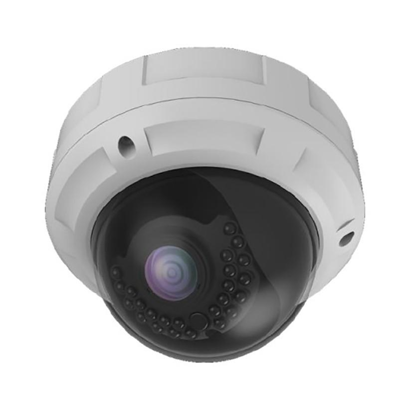 4MP Motorized Varifocal 2.8-12mm, Glass Dome Camera
