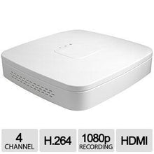 Load image into Gallery viewer, 4CH IP NVR D-Series Clearview 1U White, 1HDD, H.264/MJPEG, ONVIF Ver 2.0