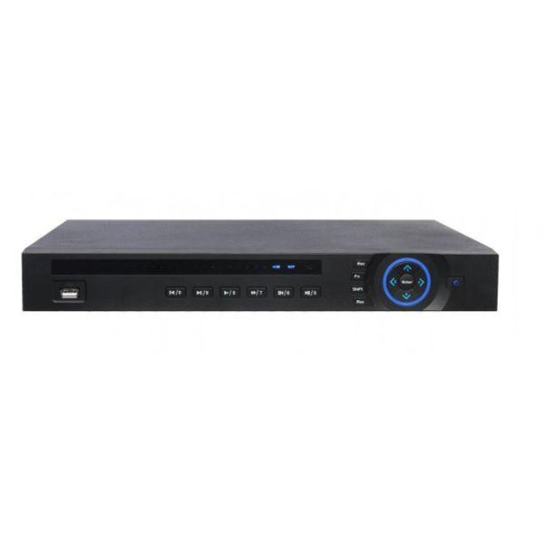 8CH IP NVR Professional D-Series 320Mbps, 1U, 2HDD, 8 Port PoE, H265+