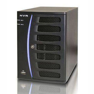 16CH IP NVR Advanced H-Series 80Mbps, Uprigth Server Case