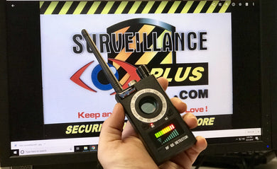 Semi-Pro grade Bug Sweep Detector with Camera Finder