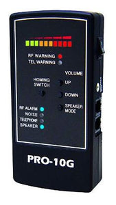 Pro-10G No. 1 GPS Tracker Finder, RF Bug Sweep and Phone Tap Detector