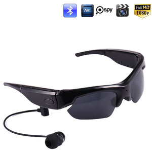 SPY Sunglasses 1080p 30fps w/audio incl 16GB mem