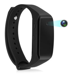 Slim 1080p Spy Watch, takes video and photos, storage up to 32GB SD card