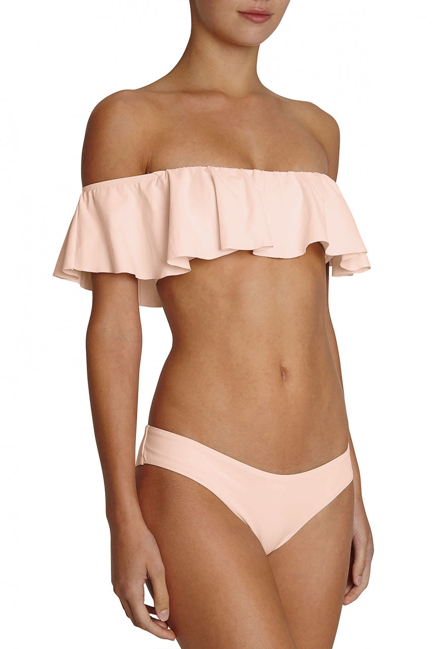 So Solid Margarita Top and So Solid Annia Bottom Bikini Set