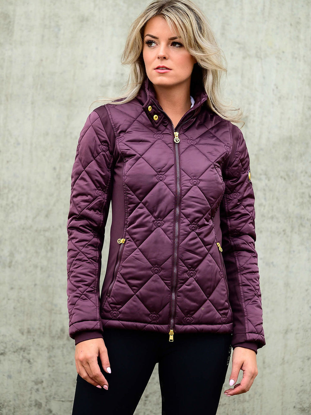 PS of Sweden Gina Jacket - Wine - The Dressage Store