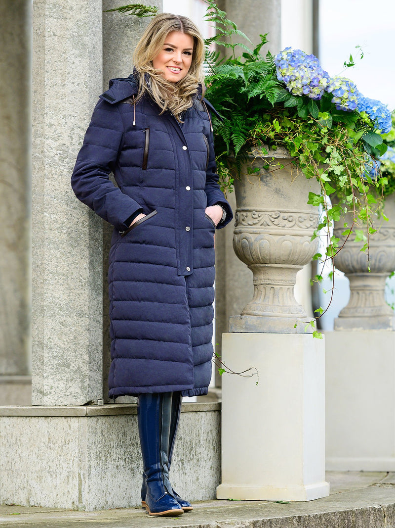 PS of Sweden Vanessa Winter Coat - Deep Sapphire - The Dressage Store