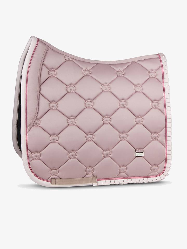 PS of Sweden Dressage Saddle Pad - Pink Ruffle - The Dressage Store