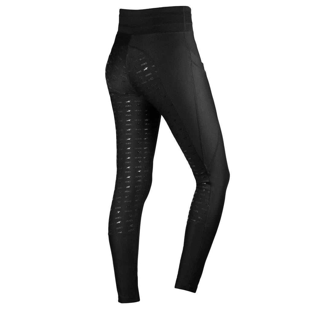 Schockemöhle Full Seat Riding Tights - Cooling/Pull on Breech - The Dressage Store