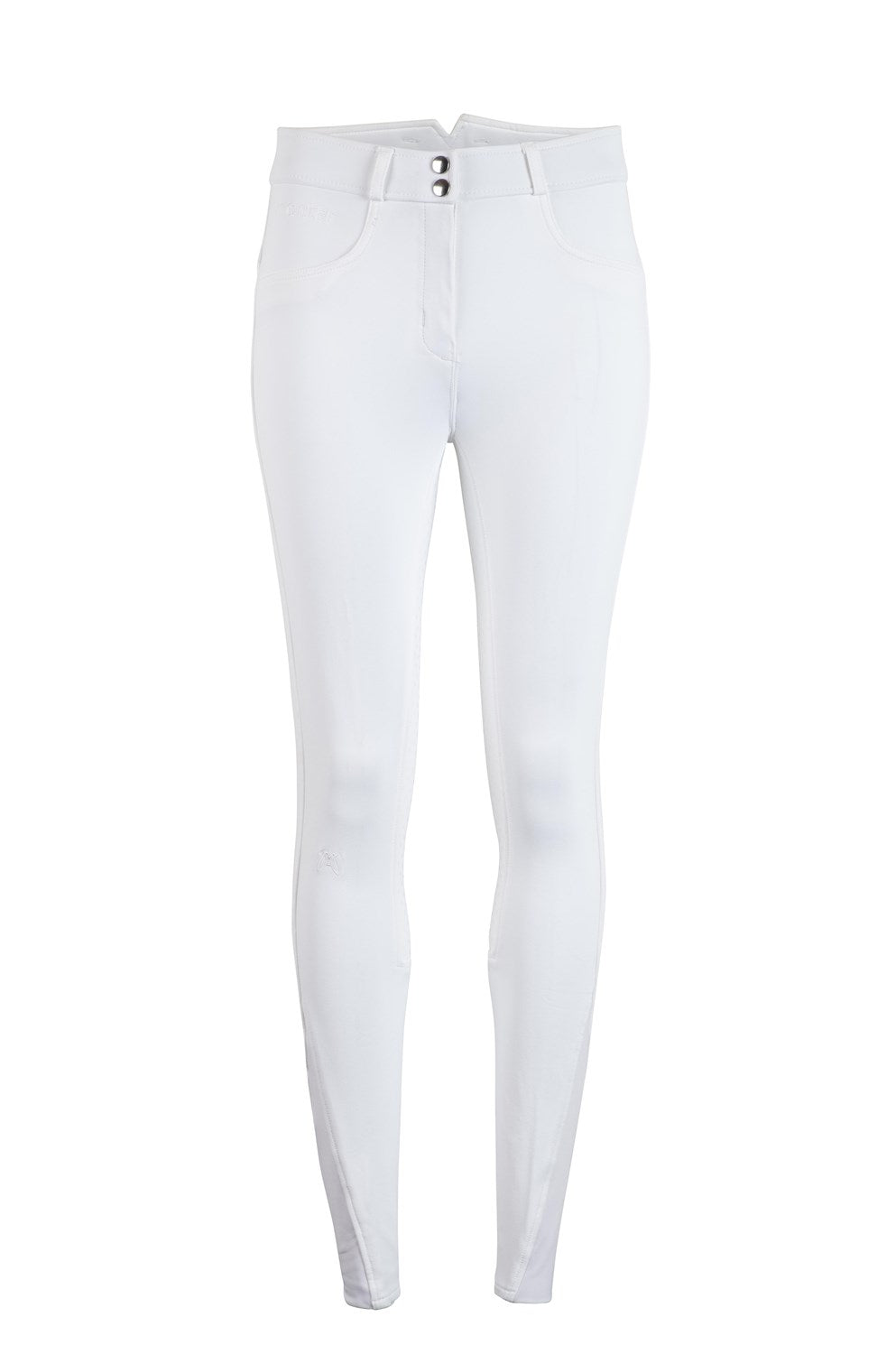 Montar ESS Highwaist Breech - White - The Dressage Store