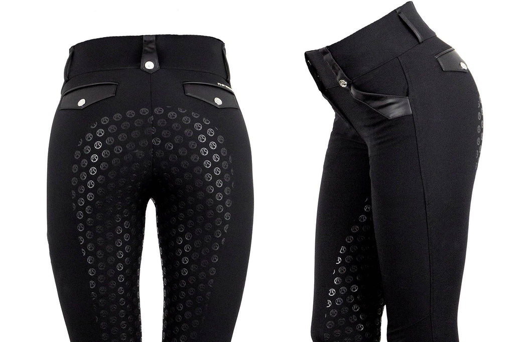 PS of Sweden Karyn Breech - Black Onyx - The Dressage Store