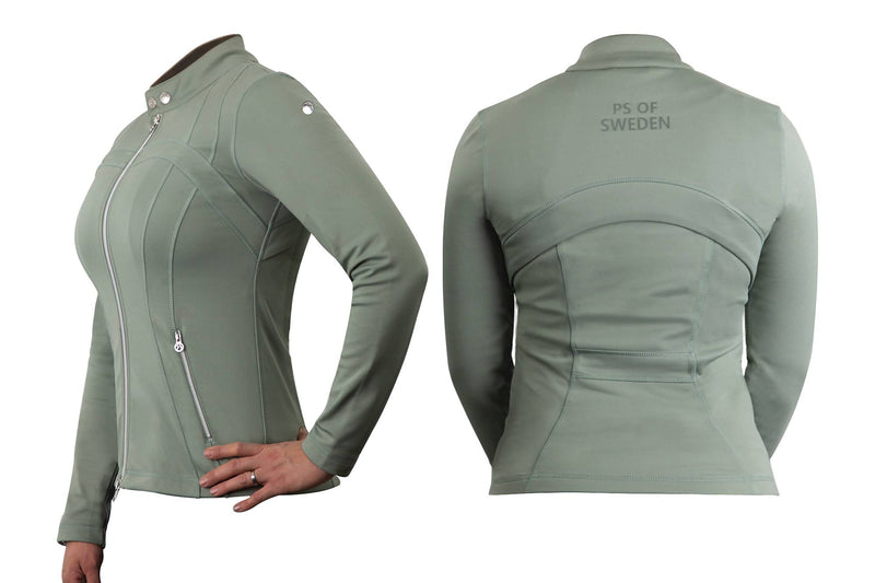 PS of Sweden Luna Jacket Sage - The Dressage Store