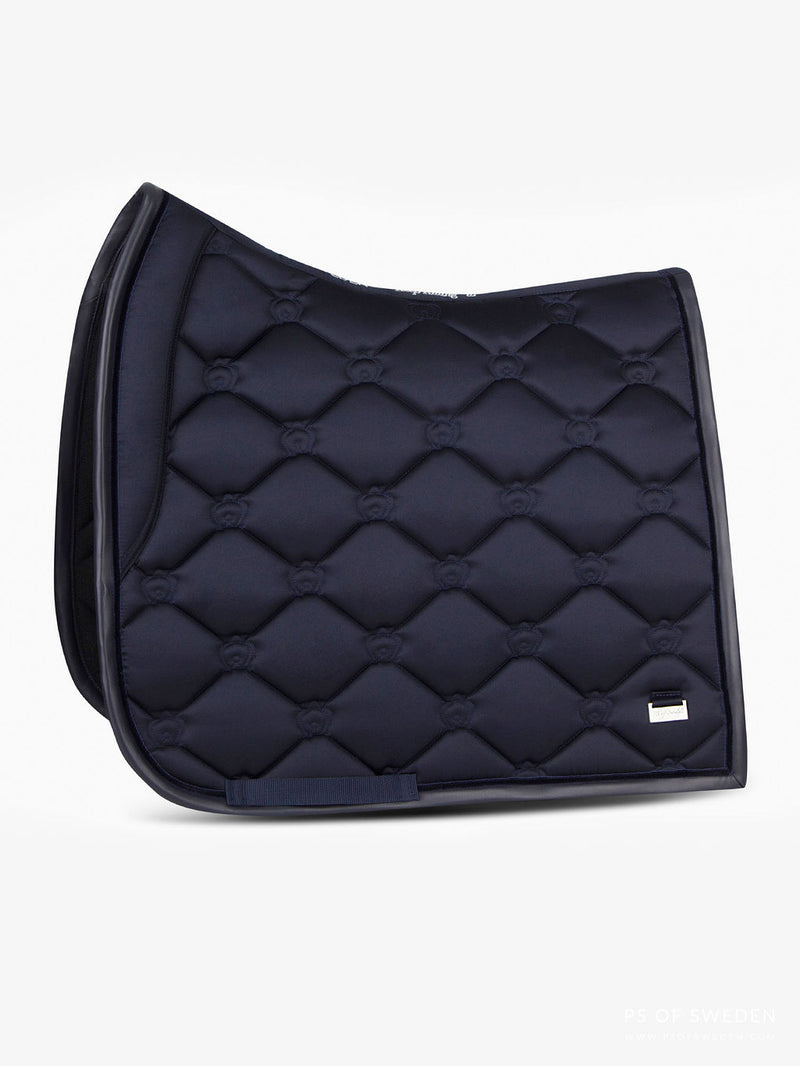 PS of Sweden Dressage Saddle Pad - Navy - The Dressage Store