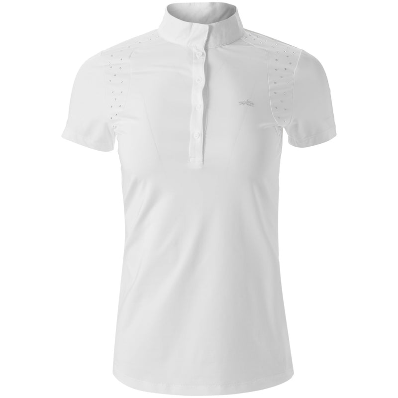 Schockemöhle Meredith UV Show Shirt - White - The Dressage Store