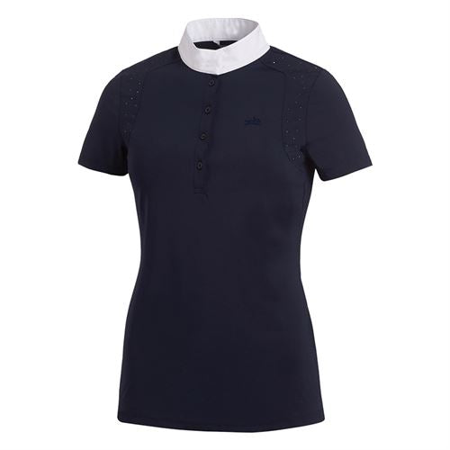 Schockemöhle Meredith UV Show Shirt - Midnight Blue - The Dressage Store