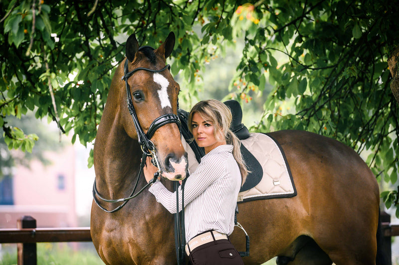 PS of Sweden Dressage Saddle Pad Prosecco - The Dressage Store