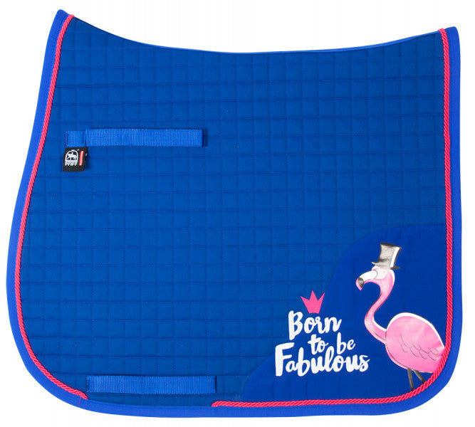 "Pfiff ""Born to Be Fabulous"" Saddle Pad (Dressage) - The Dressage Store"