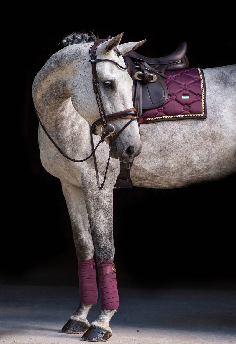 PS of Sweden Polo Wraps - Wine - The Dressage Store