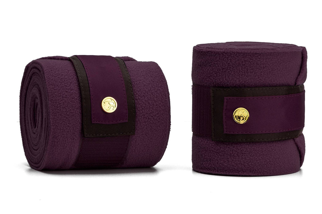 PS of Sweden Polo Wrap Wine - The Dressage Store