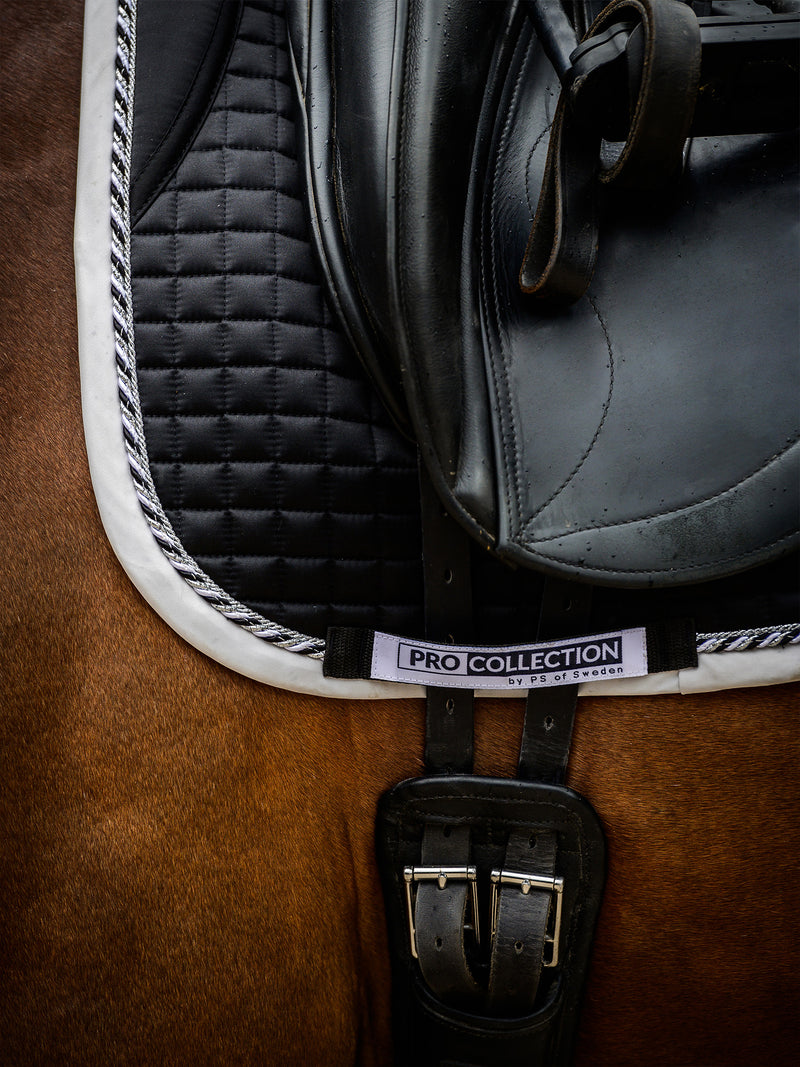 PS Of Sweden Pro 2 Black Dressage Saddle Pad - The Dressage Store