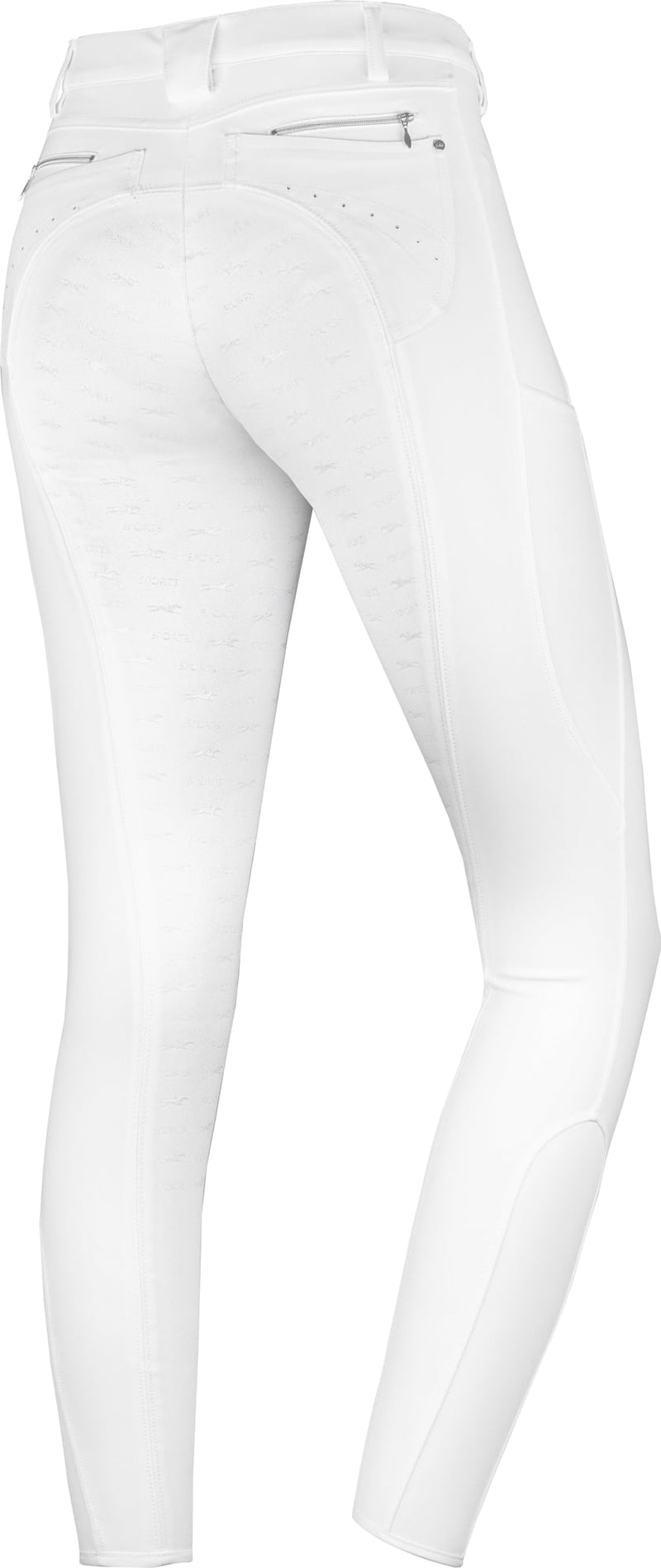 Schockemöhle Full Seat Victory Riding Breeches - White - The Dressage Store