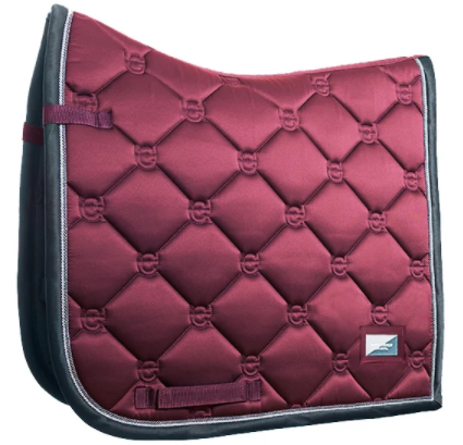 Dressage Saddle Pad Winter Rose - The Dressage Store