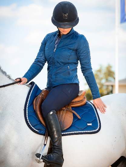 PS of Sweden Brooklyn Breech - Deep Sapphire - The Dressage Store