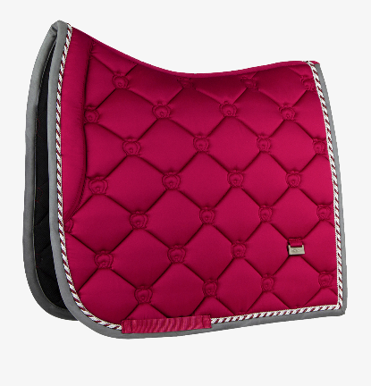 PS of Sweden Dressage Saddle  Pad - Scarlet - The Dressage Store