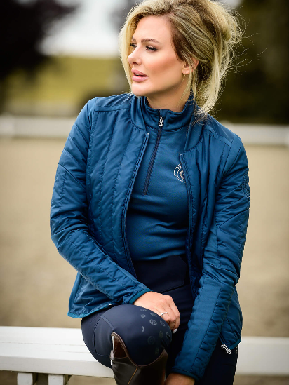 PS of Sweden Light Weight Jacket - Neptuna - The Dressage Store