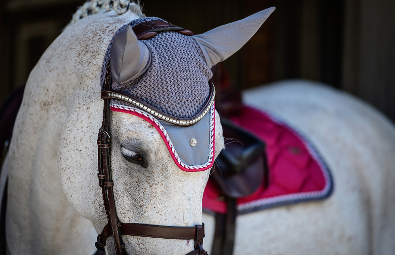 PS of Sweden Fly Hat - Scarlet - The Dressage Store