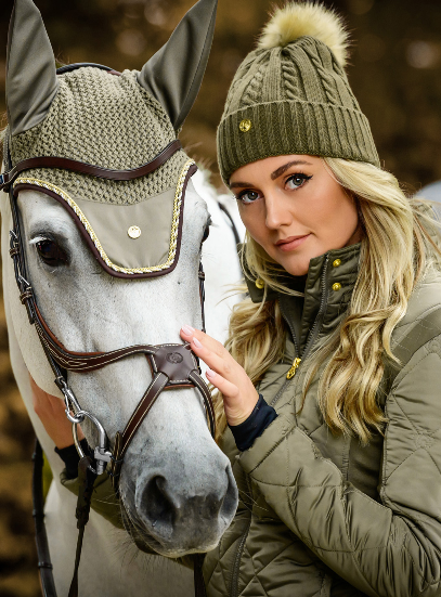 PS of Sweden Fly Hat - Moss - The Dressage Store