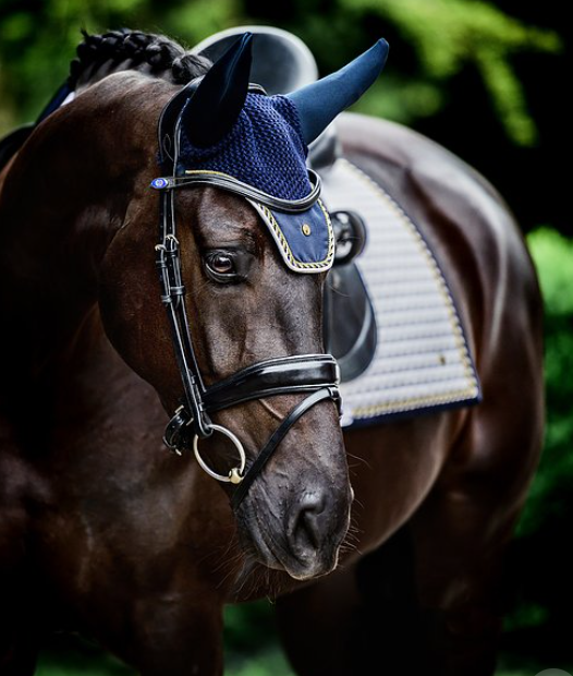 PS of Sweden Fly Hat - Navy - The Dressage Store