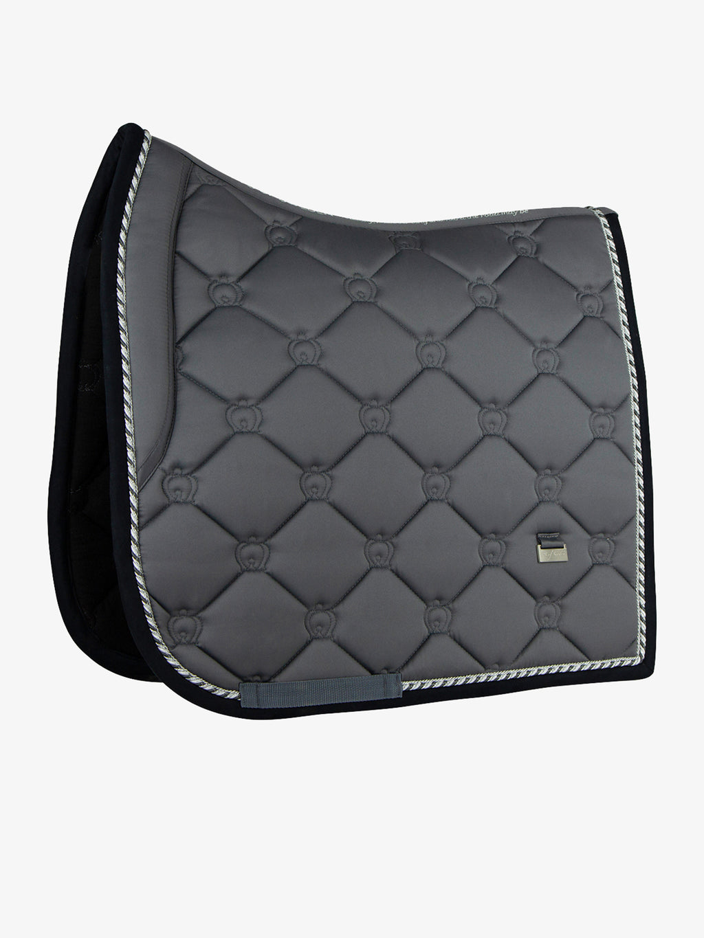 Ps of Sweden Dressage Saddle Pad - Anthracite - The Dressage Store
