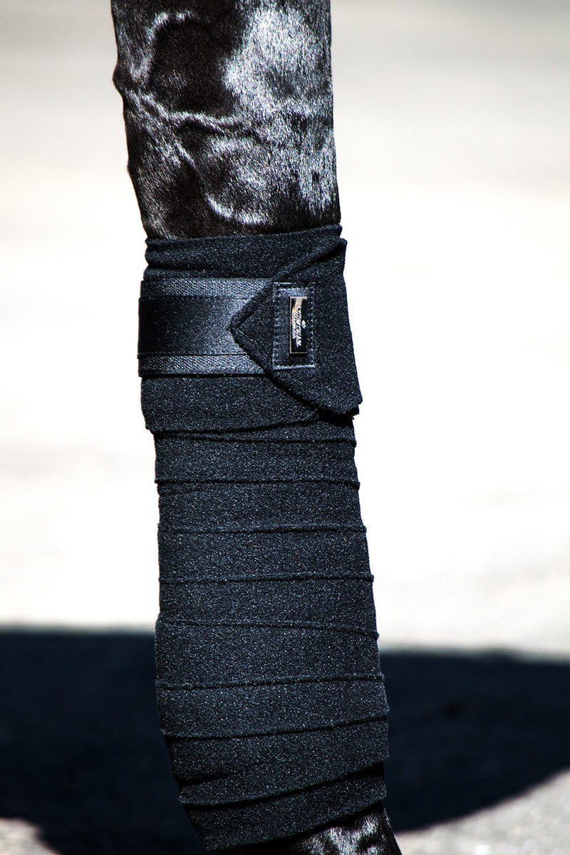 Equestrian Stockholm Polo Wraps - Black Edition - The Dressage Store
