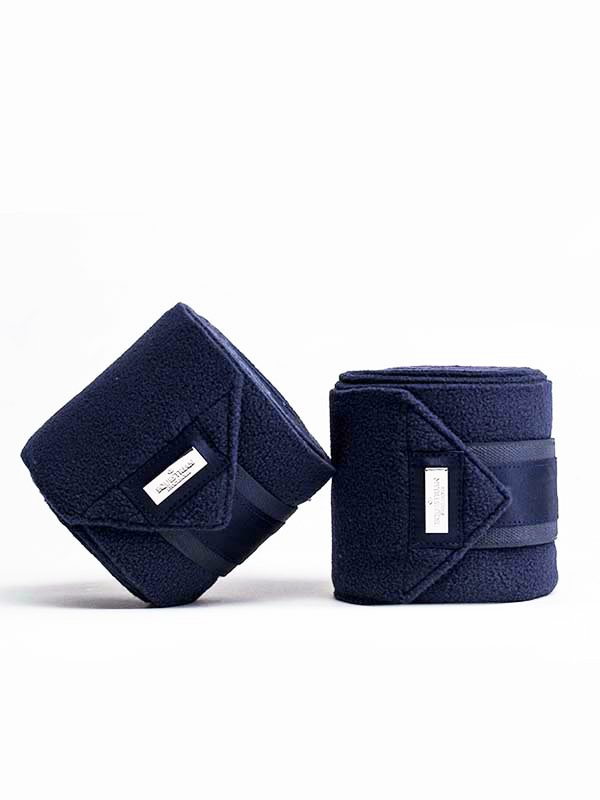 Equestrian Stockholm Polo Wraps - Midnight Blue - The Dressage Store