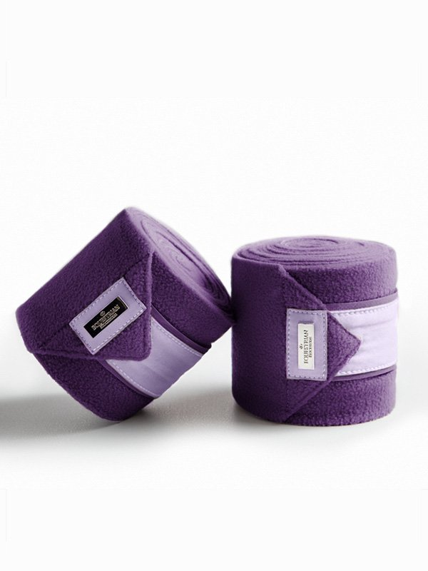 Equestrian Stockholm Polo Wraps Lavender - The Dressage Store