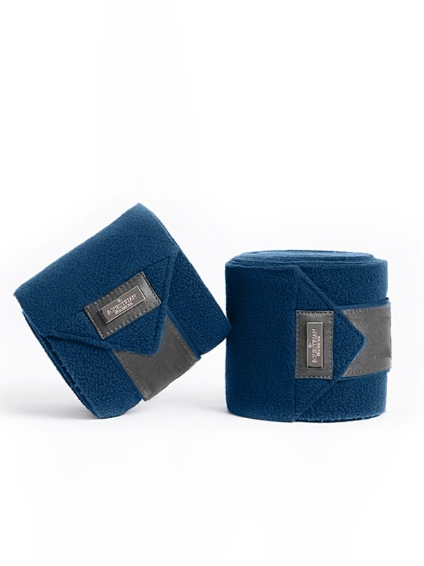 Equestrian Stockholm Polo Wraps - Moroccan Blue - The Dressage Store