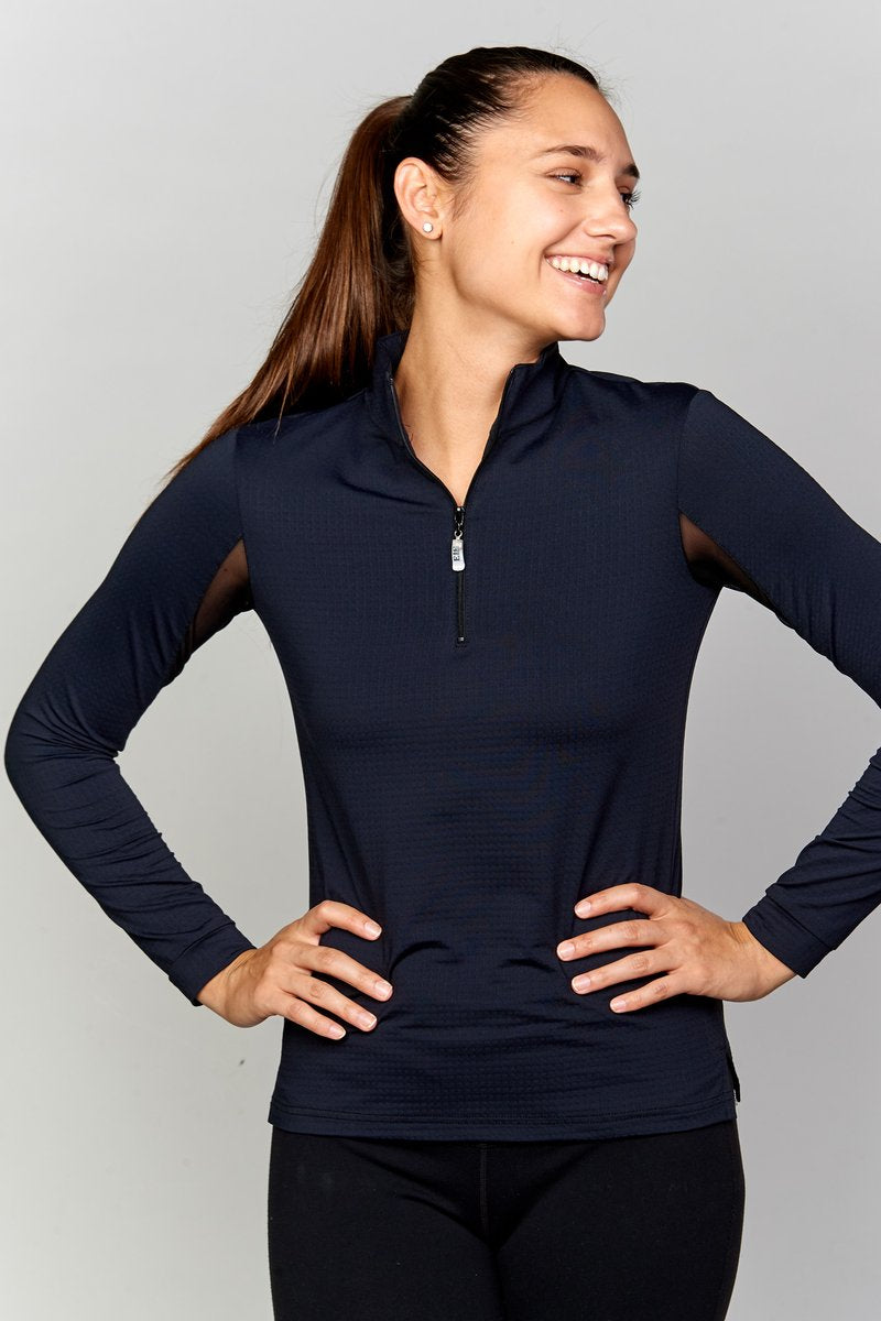 EIS Sun Shirt - Black - The Dressage Store