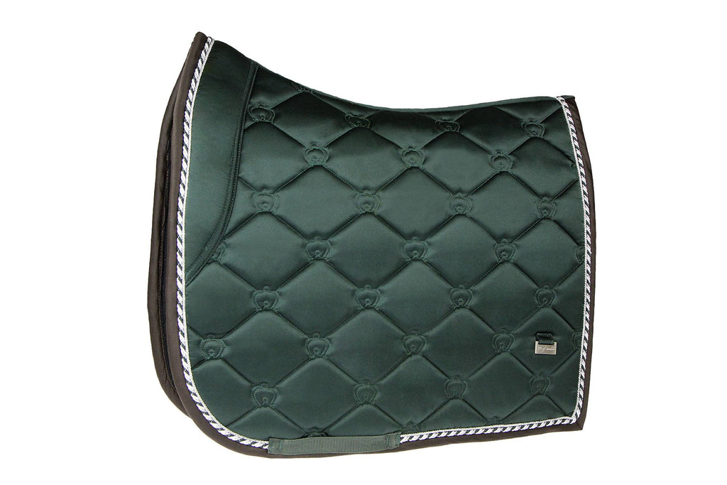 PS of Sweden Dressage Saddle Pad - Emerald - The Dressage Store