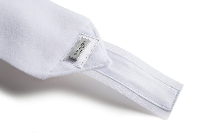Equestrian Stockholm Polo Wraps - White Perfection Silver - The Dressage Store